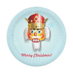 50% Off Your Holiday Party Essentials! | USE CODE: SUNDAYDEAL65 | good until Dec. 7, 2014 at 11:59 PM PST | Customizable Nutcracker 7 Inch Paper Plate
