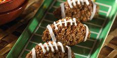 Chocolate Nutty Mini-Footballs Treats™