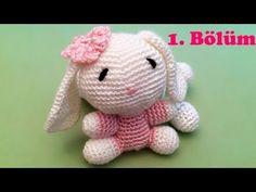 Amigurumi Örgü Oyuncak Tavşan Yapımı - 1 - YouTube