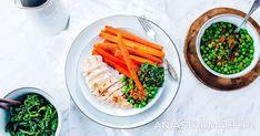 Kurczak, marchewka i groszek | Ania Starmach
