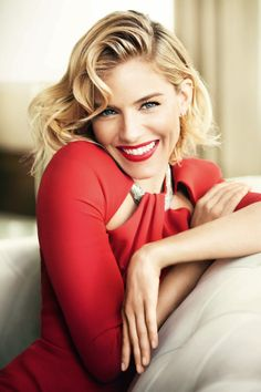 Sienna Miller for British Vogue.