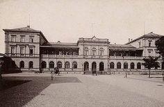 Ludwigsbahnhof Darmstadt - Hessische Ludwigsbahn – Wikipedia
