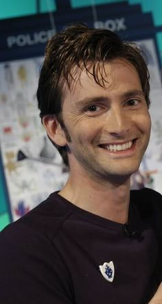 """Oh that smile!!! My first reaction was to bite my lip and fangirl for a minuet, then think, """"YESH! A NEW PICTURE OF DAVID!"""""""