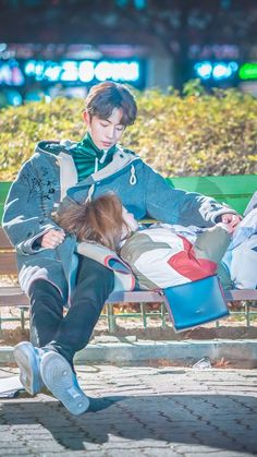 Weightlifting Fairy Kim Bok Joo on We Heart It Kdrama, Kim Bok Joo Swag, Weightlifting Fairy Kim Bok Joo Wallpapers, Weightlifting Kim Bok Joo, Weightlifting Fairy Kim Bok Joo Lee Sung Kyung, Weighlifting Fairy Kim Bok Joo, Nam Joo Hyuk Lee Sung Kyung, Couple Avatar, Joon Hyung