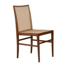 Cadeira Palhinha - Cane Dining Chair www.osvaldoantiguidades.com.br