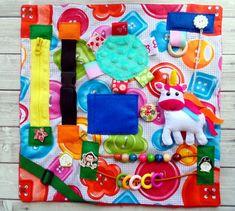 Fidget Blanket baby quiet travel toy Baby Busy board Busy blanket for dementia stroke toddler activity toy sensory blanket activity board Diy Sensory Toys, Diy Sensory Board, Baby Sensory, Baby Play, Baby Toys, Busy Board Baby, Sensory Blanket, Fidget Blankets, Fidget Quilt