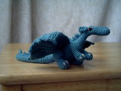 Ravelry: Fierce Little Dragon by Lucy Collin