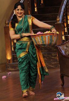 Marathi Saree, Marathi Bride, Kashta Saree, Sarees, Upasana Singh, Girl Number For Friendship, Nauvari Saree, Amazing India, India Beauty