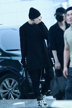 [AIRPORT] 160902: BTS Rap Monster (Kim Namjoon) #bts #bangtan #bangtanboys #fashion #style #kfashion #kstyle #korean #kpop