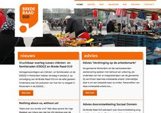 Een website voor een burger advies orgaan van de gemeente Rotterdam