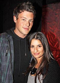 Lea Michele and Cory Monteith's Sexy Romance: Glee Beginnings