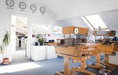 Dash + Miller woven fabric design studio and textile trend consultancy. Woven Fabric, Fabric Design, Presentation, London, Studio, Interior, Furniture, Home Decor, Decoration Home