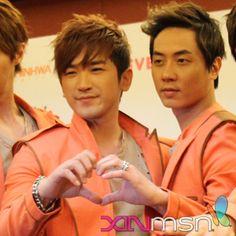 Minwoo and Andy - Shinhwa
