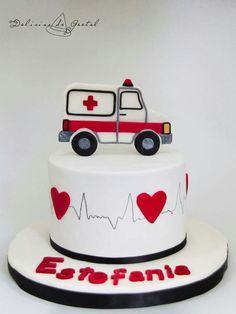 Tarta Ambulancia, Ambulance Cake