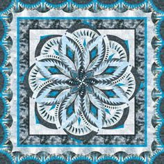 Check out this original color-way designed by Pat V. Sign up on www.quiltster.com to create your own.