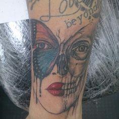 Trash polka tattoo..