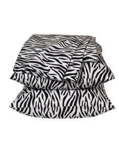 Xhilaration Zebra Sheet Set - Twin