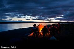 Canoeing the Yukon River in Yukon Charley N.P.