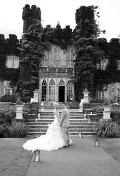 Luttrellstown Castle, in Ireland, home to one pretty famous wedding (can you guess?)