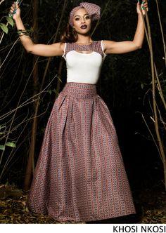 Recent shweshwe & African fashion 2020 African Print Dresses, African Dresses For Women, African Wear, African Attire, African Fashion Dresses, African Women, African Prints, African Style, Ankara Fashion