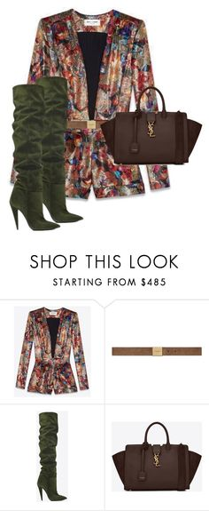 """Untitled #13723"" by alexsrogers ❤ liked on Polyvore featuring Yves Saint Laurent"