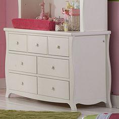 Baby's Dream Renaissance  Double Dresser Snowdrift  / 20 x 57 x 34 / Treasure rooms: $749? / Online: $629