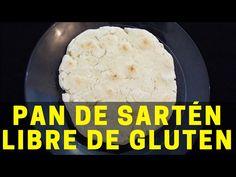 Pan de sartén sin gluten, una receta económica, muy fácil y sin usar horno Pan Rapido, Pan Sin Gluten, Dairy Free, Gluten Free, Pan Dulce, Pan Bread, Cheap Meals, Fries, Oven