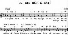 Music Notes, Czech Republic, Sheet Music, Bohemia, Music Sheets, Song Lyrics