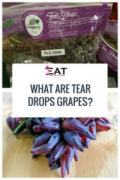 Learn What a Tear Drops Grapes Is. These elognated grapes were once called Witch Finger grapes. They are sweet and have a crunch like no other grape. They are seedless and non-GMO. Cotton Candy Grapes, Witches Fingers, Tear Drops, Earthy, Fruit, Learning, Sweet, Salads, How To Make