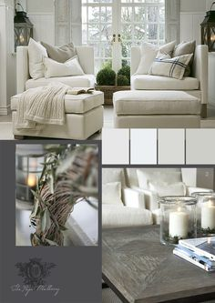 The Paper Mulberry: White Home Interior, Interior Decorating, Interior Design, Cozy Living Rooms, Living Spaces, Paper Mulberry, White Decor, Soft Furnishings, Luxury Bedding