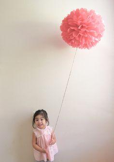 Pom Pom Balloon - by Pretty with Sprinkles $6.50