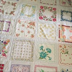 Do you have a collection of vintage hankies and you aren't quite sure what to do with them? Maybe they've been sitting in a basket because you hate the thought of cutting them? It&#821…