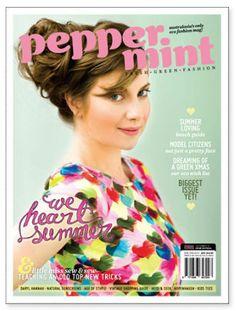 Peppermint magazine: eco fashion and lifestyle