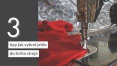 Pokud šijete, pak jistě víte, že existuje spousta druhů šicích strojních jehel, jak se v nich vyznat zjistíte na blogu Prošikulky.cz Sewing, Decor, Historia, Dressmaking, Decoration, Couture, Stitching, Decorating, Sew