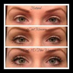 Before/After with our 3D Fiber Lash Mascara  http://www.youniqueproducts.com/melissacleveland