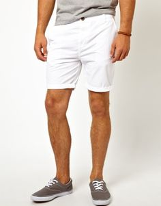 ASOS Chino Shorts In Mid Length
