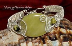 Sterling Silver Woven Wire Helix Bracelet by ggChambersDesigns, $88.00