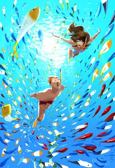'Cause I'm Happy! #pascalcampion The Happy song is playing on the radio.. kind of makes me want to move and groove..and draw fishes and Hawa...