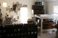 Studio space by Rebecca Sower, via Flickr