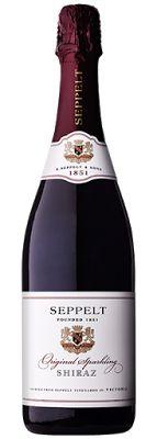 QWine - Australian Wine Reviews: Seppelt Original Sparkling Shiraz 2012