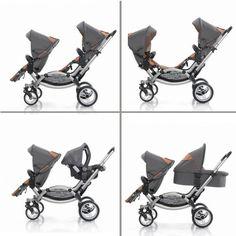 Leebruss Offers A Sleek Double Stroller : Growing Your Baby