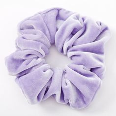 Shop Claire's for the latest trends in jewelry & accessories for girls, teens, & tweens. Find must-have hair accessories, stylish beauty products & more. Hair Bobbles, Velvet Scrunchie, Velvet Hair, Elastic Hair Bands, Ponytail Holders, Girls Accessories, Jewelry Accessories, Hair Jewelry, Jewellery
