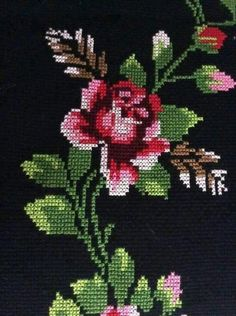 This Pin was discovered by Şey Cross Stitch Heart, Cross Stitch Borders, Counted Cross Stitch Kits, Cross Stitch Flowers, Cross Stitch Designs, Cross Stitch Patterns, Baby Embroidery, Cross Stitch Embroidery, Paper Quilling Designs