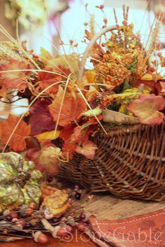 fall arrangement . . .