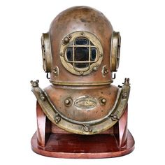Antique A. J. Morse Nautical Dive Helmet