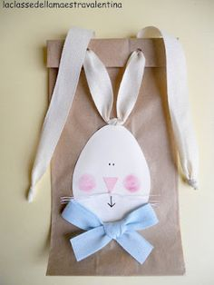 Adorable Easter treat bags