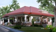 Modern bungalow house design picture of modern bungalow house of traditional modern bungalow house designs ireland . House Floor Design, Modern Bungalow House Design, Modern Bungalow Exterior, Bungalow House Plans, Dream House Exterior, Small House Design, New House Plans, House Designs Ireland, Model House Plan