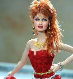 OOAK Mattel Cyndi Lauper Custom Doll Repaint by Noel Cruz | eBay - $760.00