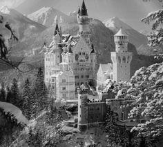 Neuschwanstein, el castillo de los cuentos de Disney.