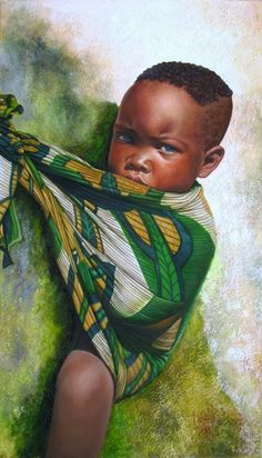 Fine Art and You: 20 Beautiful African Children Paintings By Dora Alis